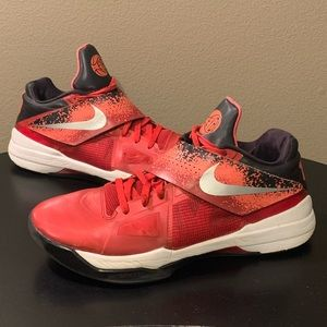 Nike Zoom KD 4 EYBL Red